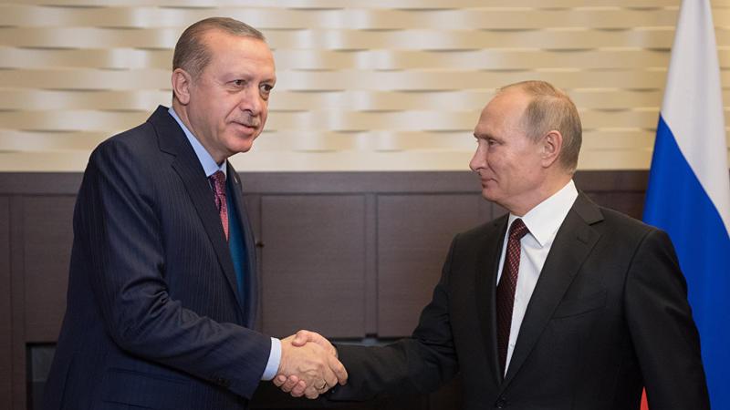 Türkiyə və Rusiya prezidentlərinin görüşü başladı