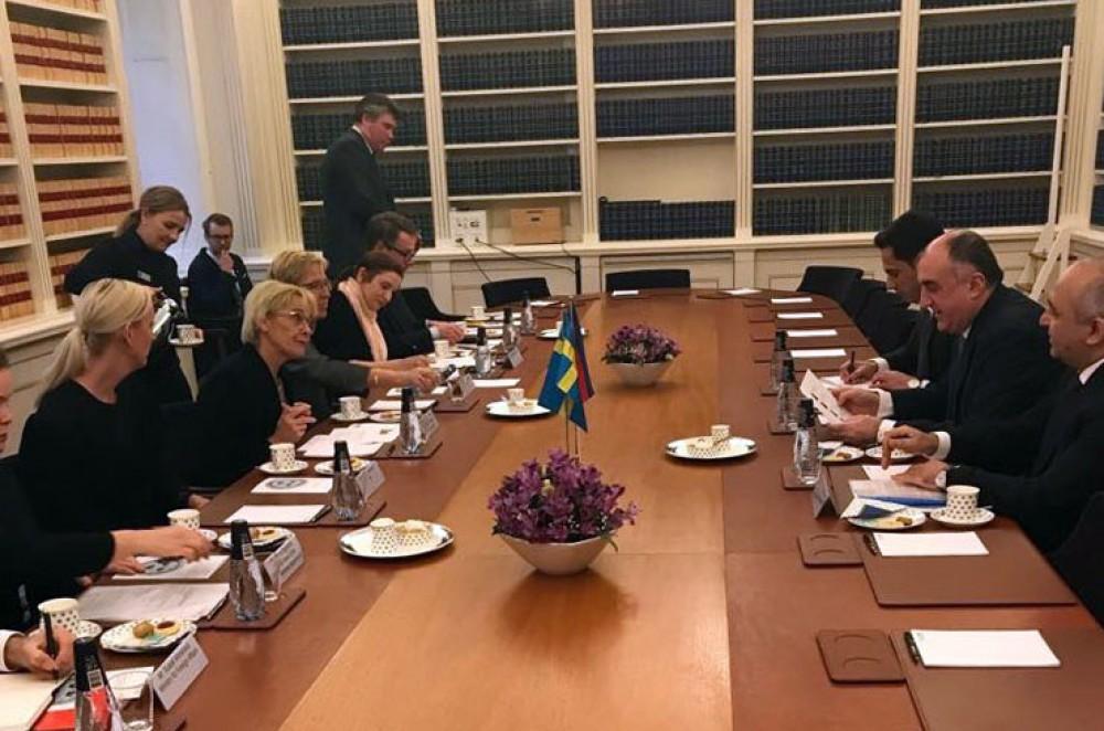 Azərbaycan və İsveç parlamentləri arasında əməkdaşlığın inkişafı yolları müzakirə olunub