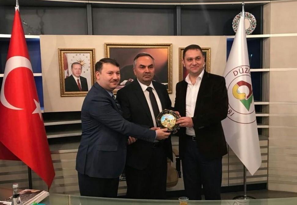 Azərbaycan Texnologiya Universiteti Türkiyənin Düzcə Universiteti ilə əməkdaşlıq edəcək (Foto)
