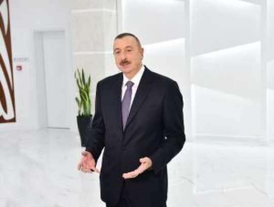 """Prezident: """"Bu gün Azərbaycan dünya miqyasında idman dövləti kimi tanınır"""""""