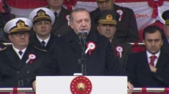 """Türkiyə prezidenti: """"Güclü ordumuz olmasaydı, bizi bölgədə yaşamağa qoymazdılar"""""""
