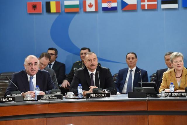 İlham Əliyev NATO-nun iclasında Ermənistanı ifşa etdi