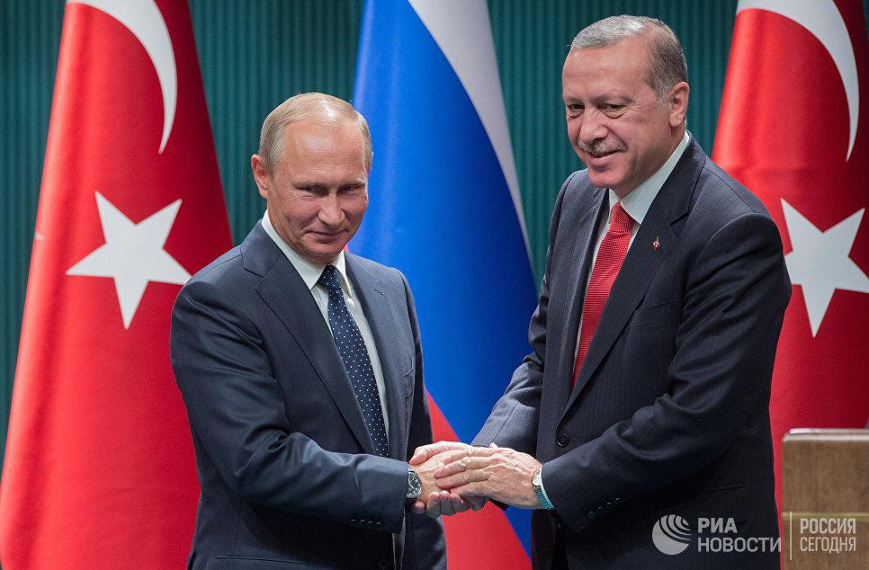 Ərdoğanla Putinin görüşü başa çatdı