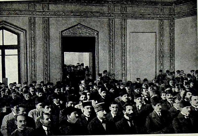 Şərqdə yaradılan ilk parlament