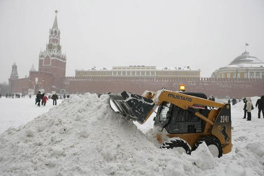 Yaxın saatlarda Moskvaya güclü qar yağacaq