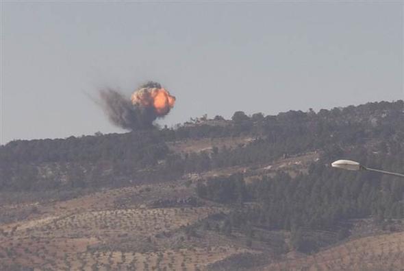 Türkiyə ordusu Afrində strateji yüksəkliyi PYD/YPG terrorçularından təmizləyib