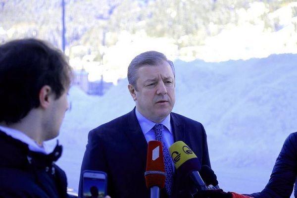 Kvirikaşvili: Azərbaycan prezidenti ilə Davosda maraqlı danışıqlar apardıq