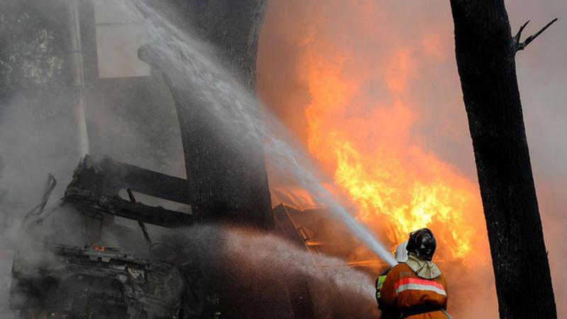 Qazaxıstanda 52 nəfər avtobusda DİRİ-DİRİ YANDI – SON DƏQİQƏ – VİDEO