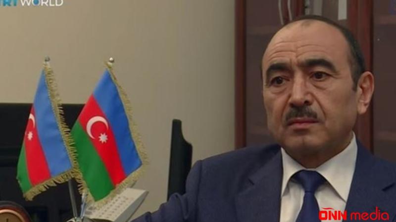 """Əli Həsənovun """"TRT WORLD"""" telekanalına müsahibəsi – VİDEO"""