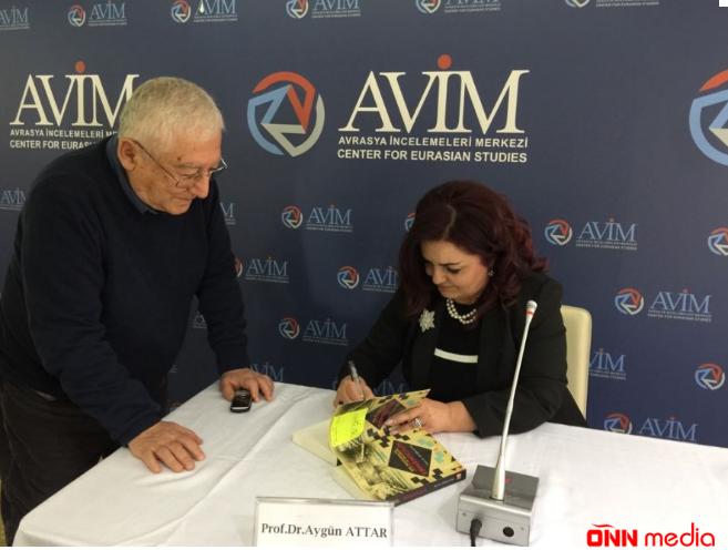 Aygün Attar Ankarada Azərbaycan xalqının soyqırımına həsr olunmuş konfrans keçirib