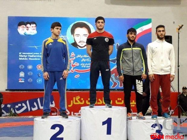 Güləşçilərimiz İranda böyük uğur qazanıb