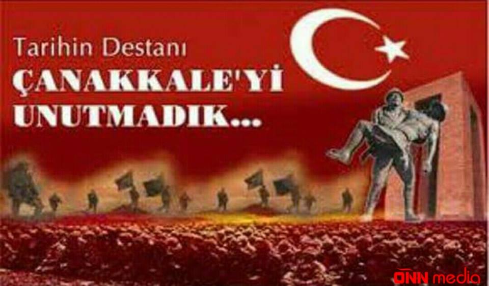 18 mart Çanaqqala şəhidlərinin anma günüdür!