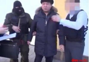 Qazaxıstanın energetika nazirinin müavini həbs edildi-VIDEO