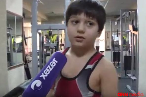 7 yaşı var, amma peşəkar idmançıların məşq proqramlarını icra edir – VİDEO