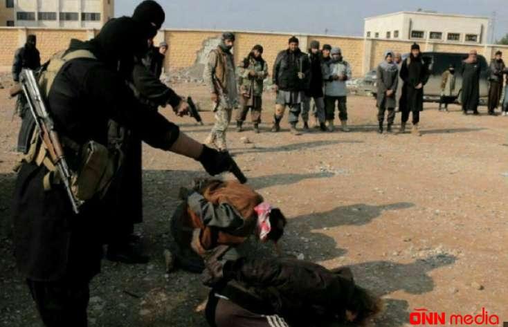 İŞİD terrorçuları girovları edam etmək istərkən baxın nə oldu – VİDEO