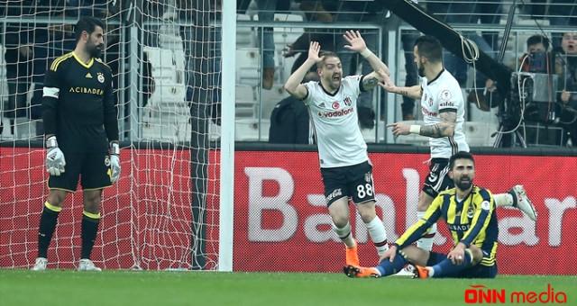 Beşiktaş ilə Fenerbahçe oyununda gərgin anlar