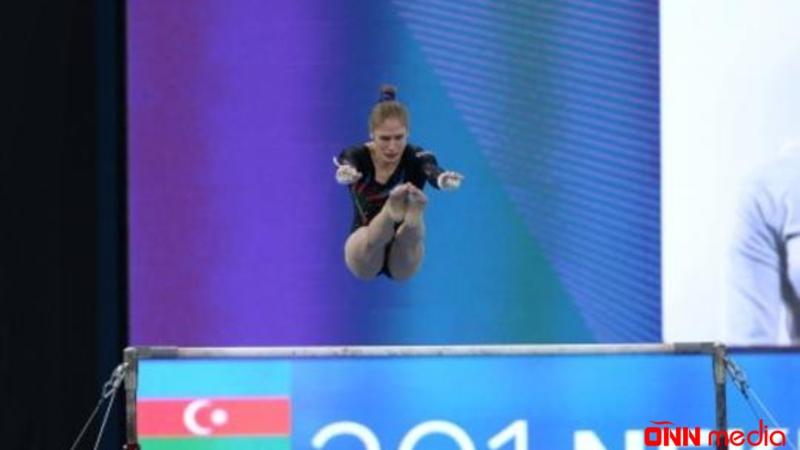 Qadın gimnastlarımız dünya kubokunun finalında