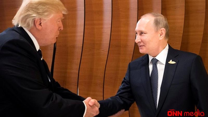 Tramp Putinlə görüşmək niyyətindədir