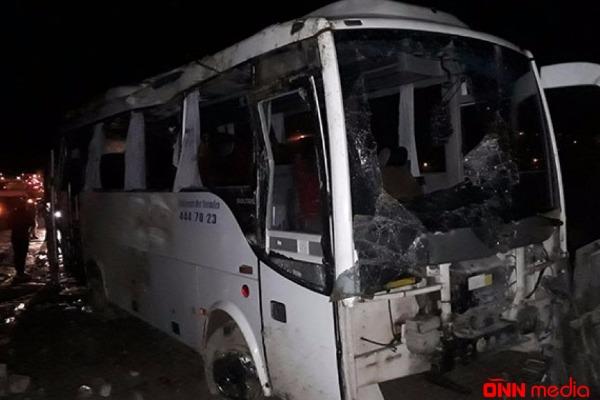 Türkiyədə ağır yol qəzası – 30 yaralı