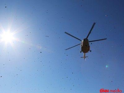 Helikopter qəzası- 3 ölü