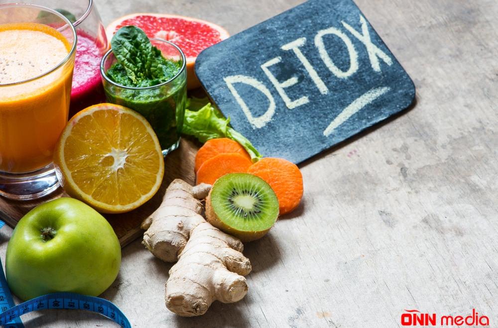 Bədəni zərərli toksinlərdən təmizləyən detoks – RESEPT