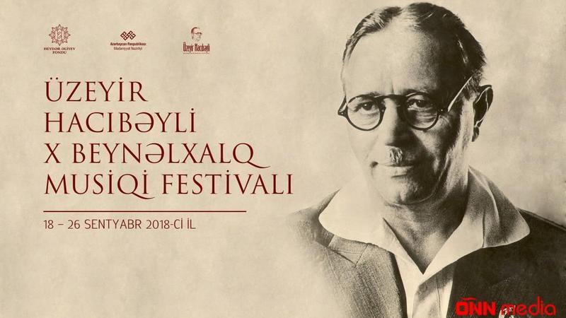Üzeyir Hacıbəyli X Beynəlxalq Musiqi Festivalı keçiriləcək