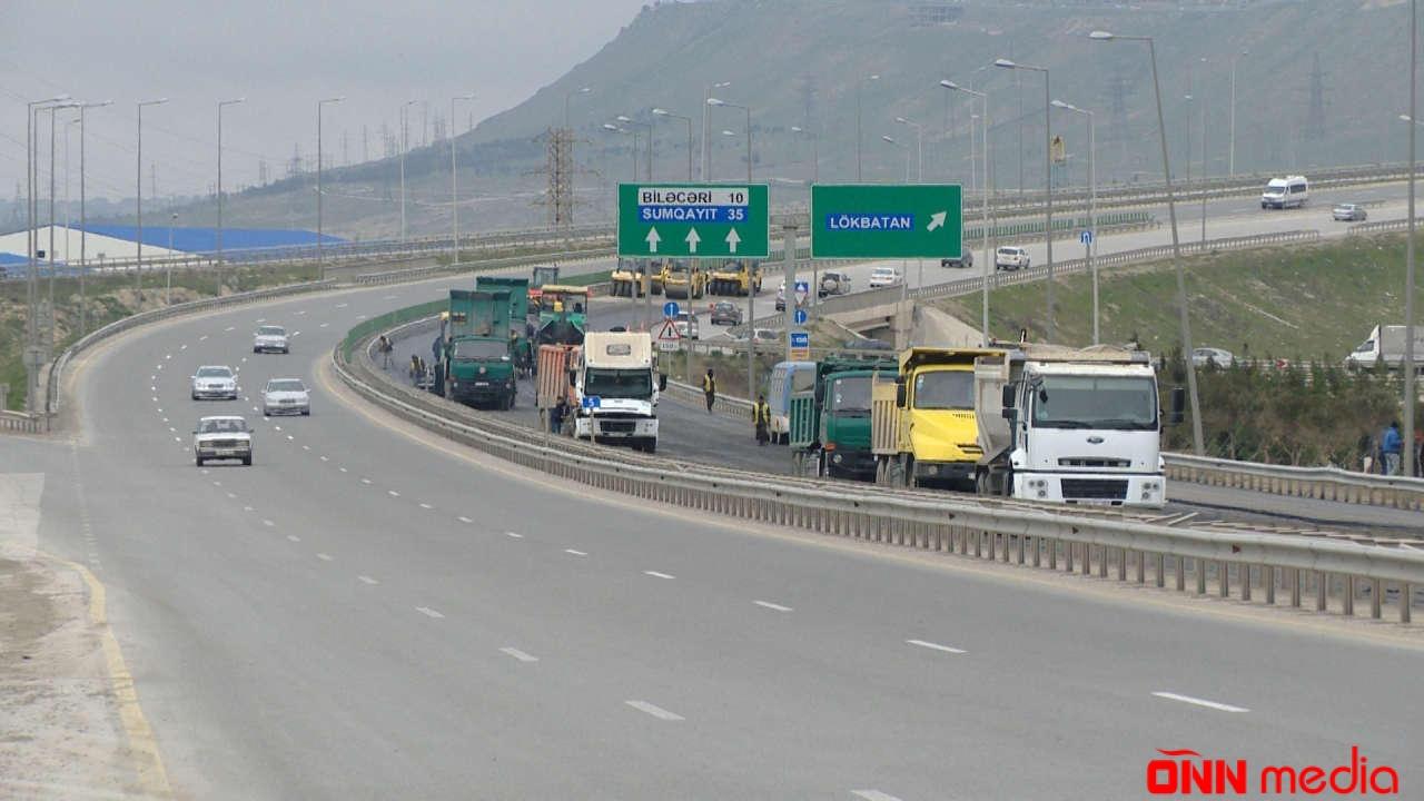 DİQQƏT- Bu yolda təmir işləri aparılır