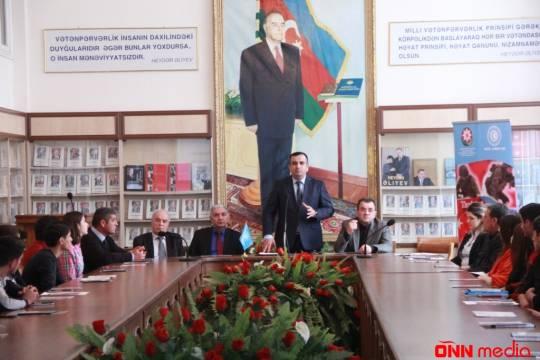 Turan Araşdırma Mərkəzi Azərbaycan Dövlət Pedoqoji Universitetində tədbir keçirdi