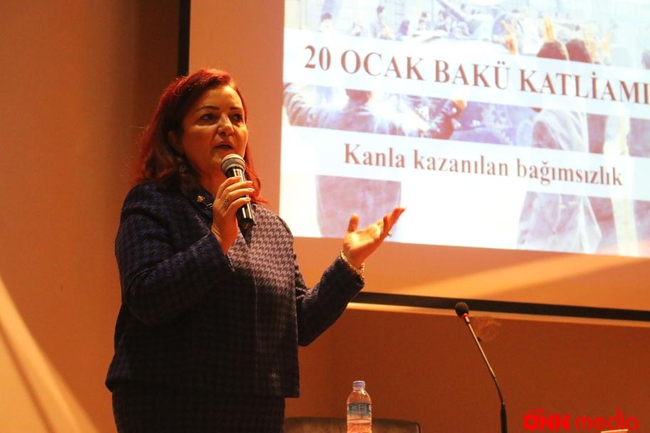 Azərbaycanın qürurlu mübarizəsinin adıdır 20 YANVAR – professor Aygün ATTAR