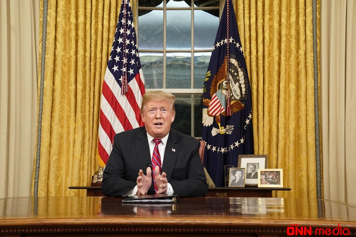 Trampdan amerikalılara çağırış