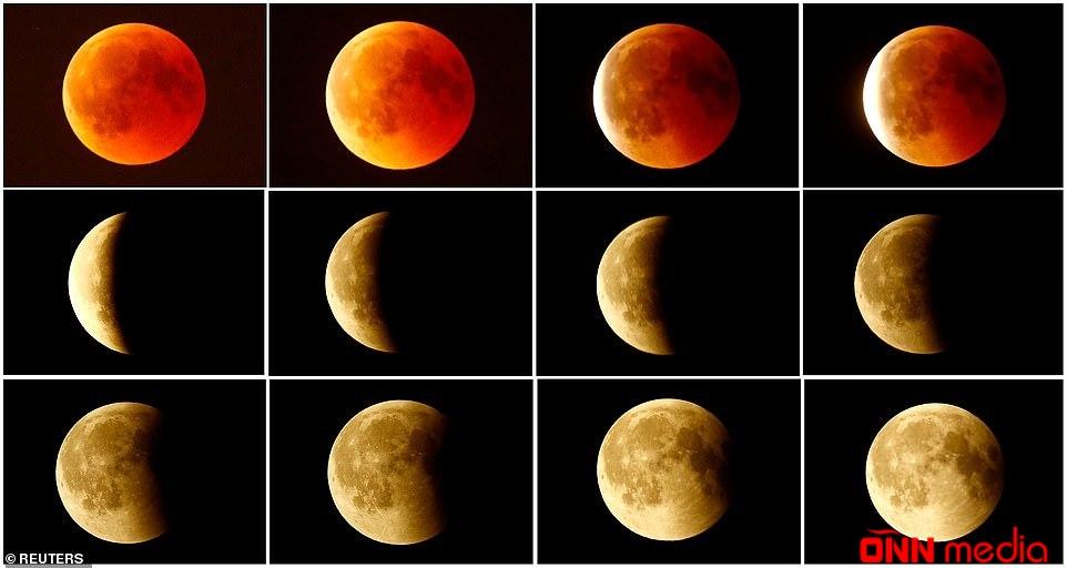 İlin ilk Ay tutulması olub