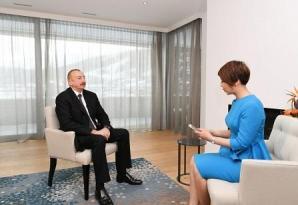 İlham Əliyev Rusiya və Çin mediasına müsahibə verdi