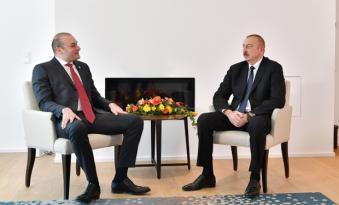 Prezident Gürcüstanın baş naziri ilə görüşdü