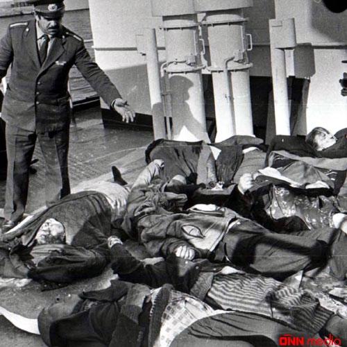 Ermənilərin Krasnovodsk-Bakı bərəsindəki terror aktından 27 il ötür
