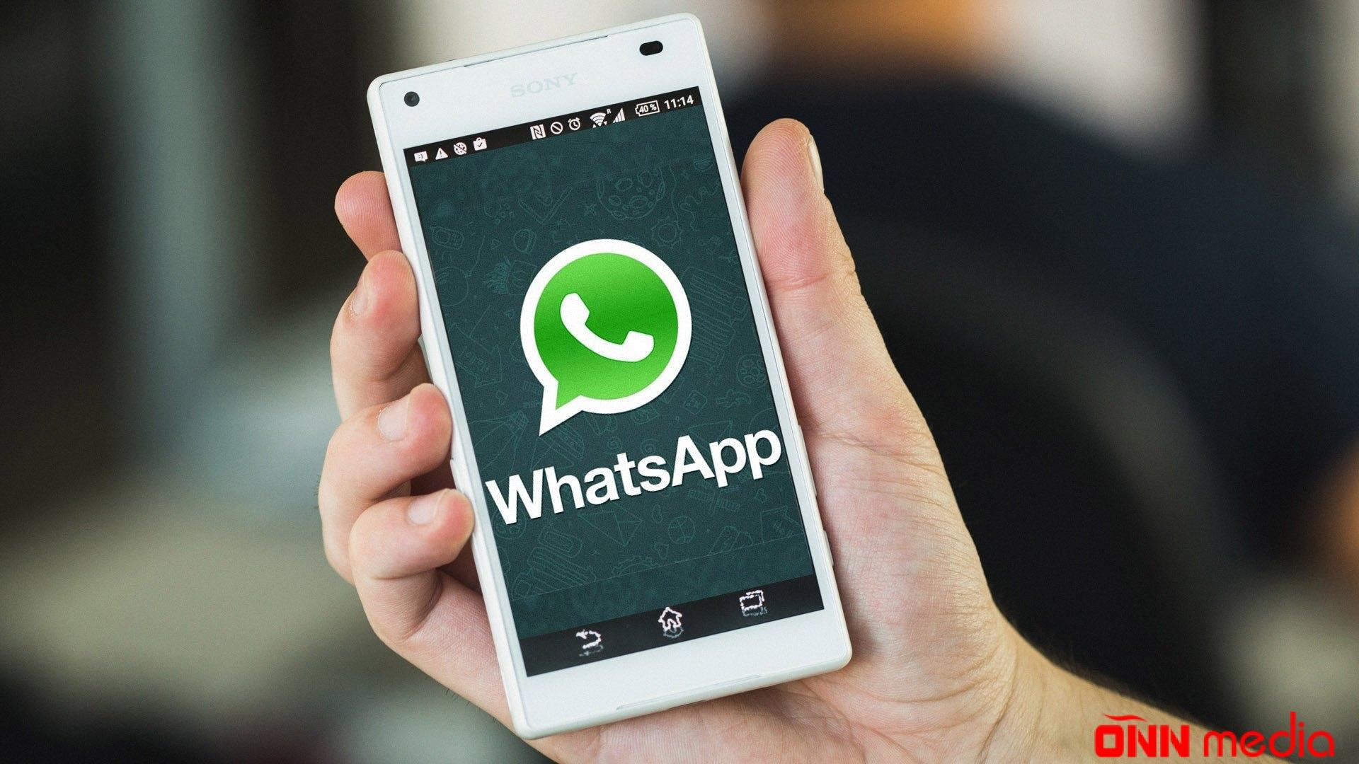 """""""Whatsapp""""dan məhdudiyyət- ARTIQ…"""