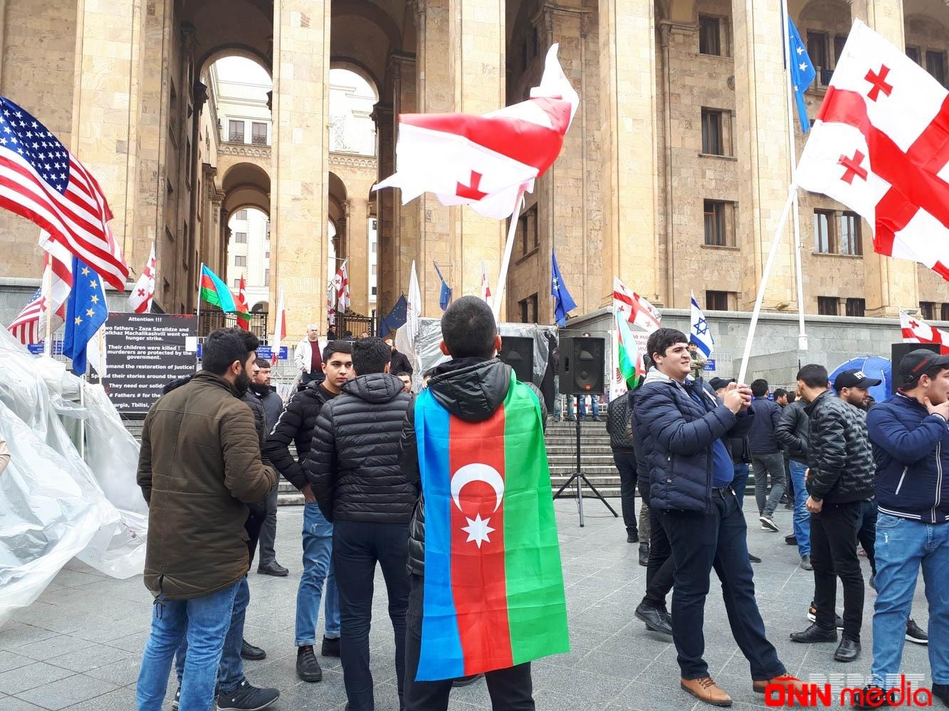 Gürcüstanda azərbaycanlıların və gürcülərin birgə aksiyası keçirilir