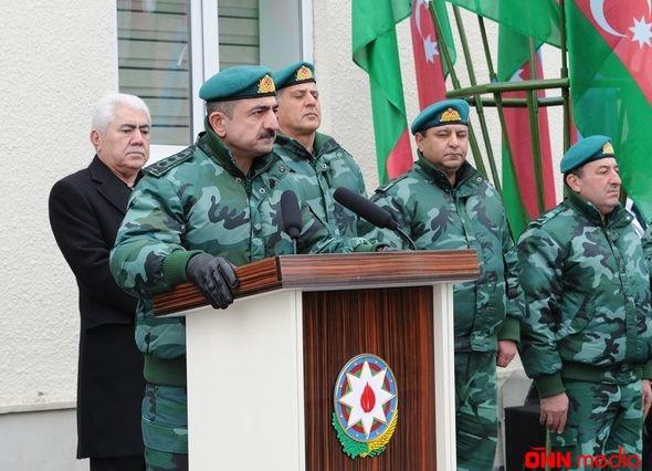 Təmas xəttində yeni hərbi hissə istifadəyə verildi – FOTO