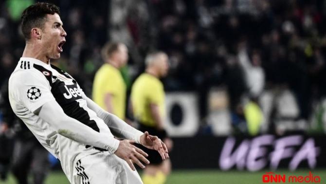 Ronaldo şou göstərdi – qol sevinci olay oldu (VİDEO)