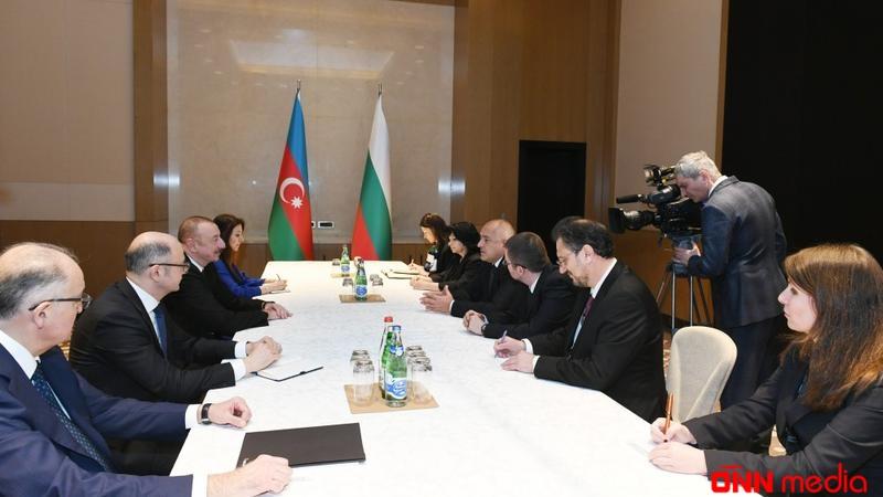 İlham Əliyev Boyko Borisov ilə görüşdü