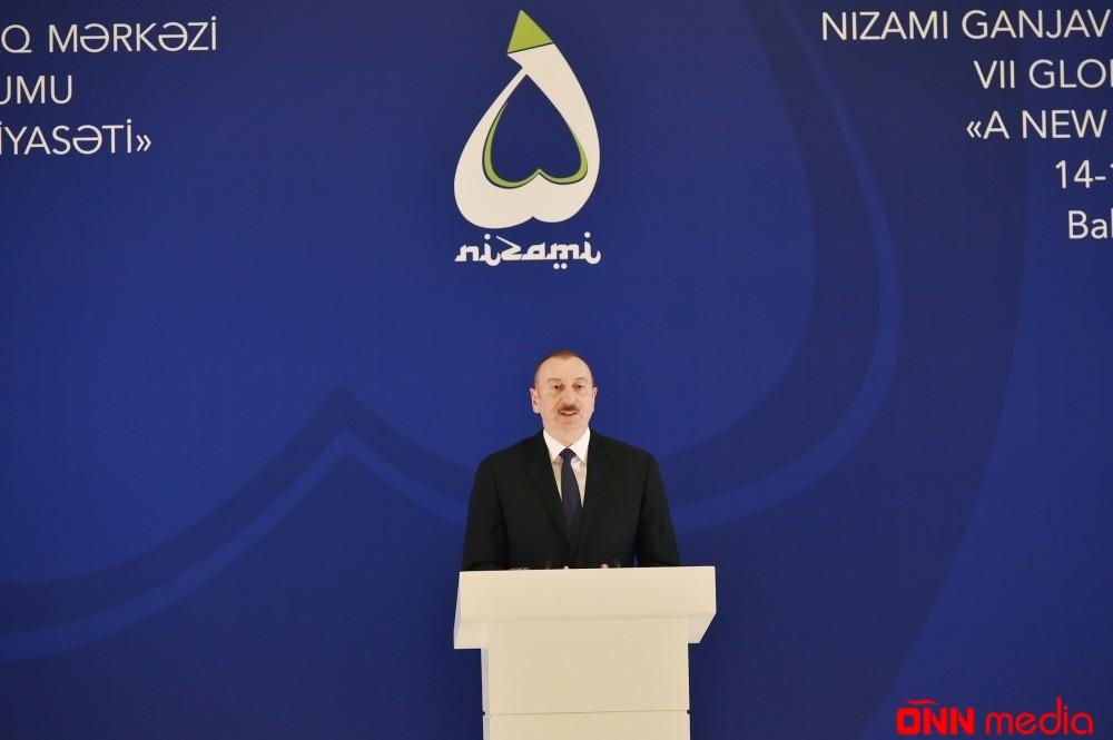 """Azərbaycan Prezidenti: """"Ermənistan hökuməti buna cəhd edir"""""""