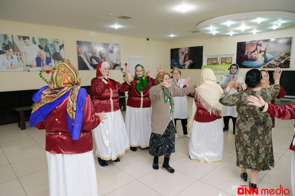 Heydər Əliyev Fondu sosial xidmət müəssisəsində Novruz şənliyi təşkil edib
