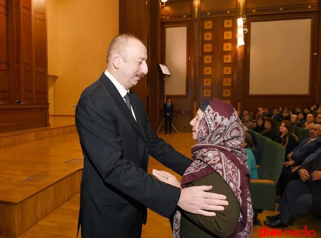 Şəhid ailələri və Qarabağ müharibəsi əlillərinə 800 mənzil veriləcək