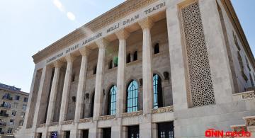 Akademik Milli Dram Teatrı- Tamaşalar təxirə salınıb