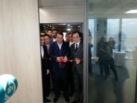 Azərbaycan-İran ticarət mərkəzinin açılışı oldu