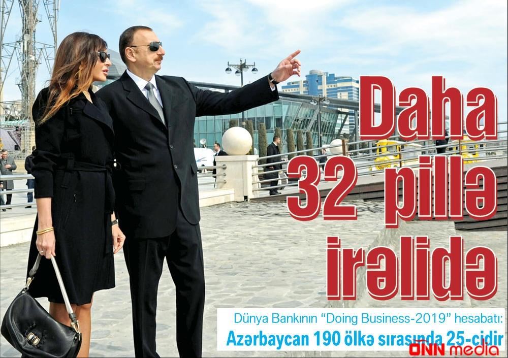 Daha 32 pillə irəlidə