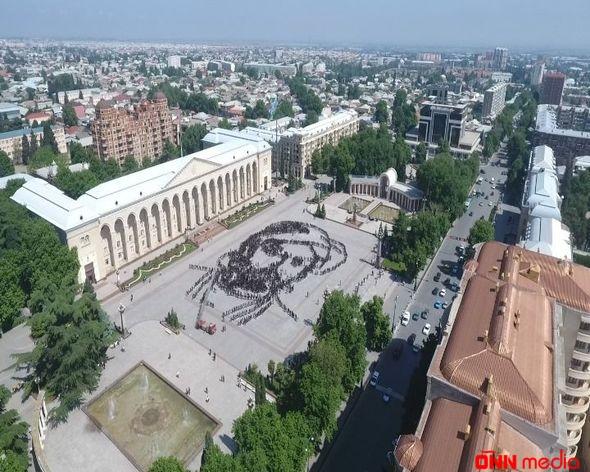 """Gəncədə """"Nəsimi"""" fleşmobu – FOTO"""