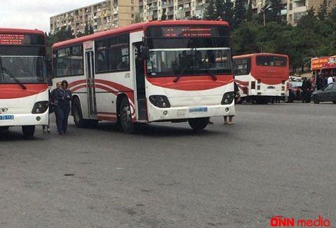 Bakıda avtobusda BİABIRÇILIQ- VİDEO