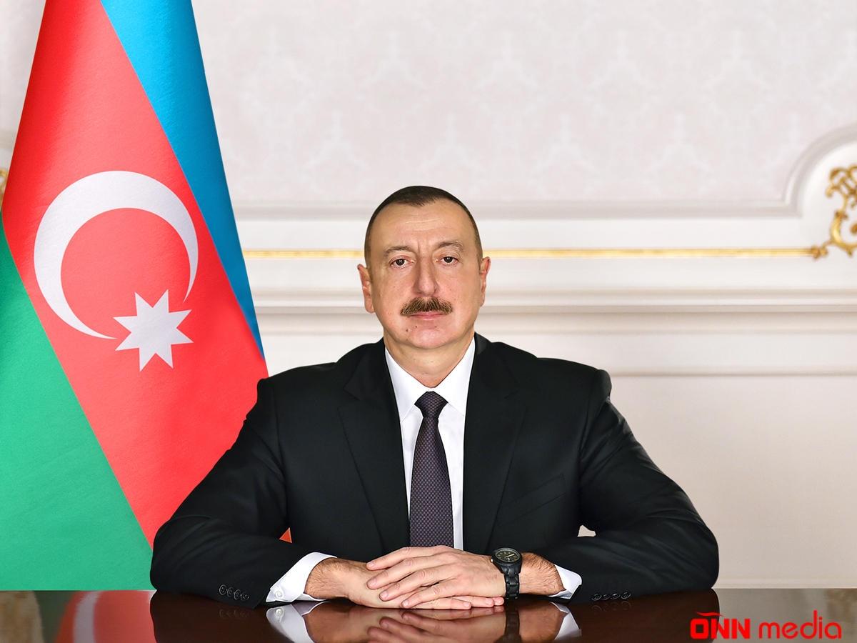 Prezident İlham Əliyev sərəncam imzalayıb