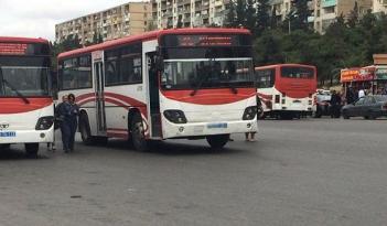 Bu avtobusların hərəkətində dəyişiklik edildi