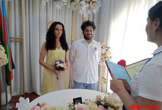Fuad Poladovun oğlu evləndi